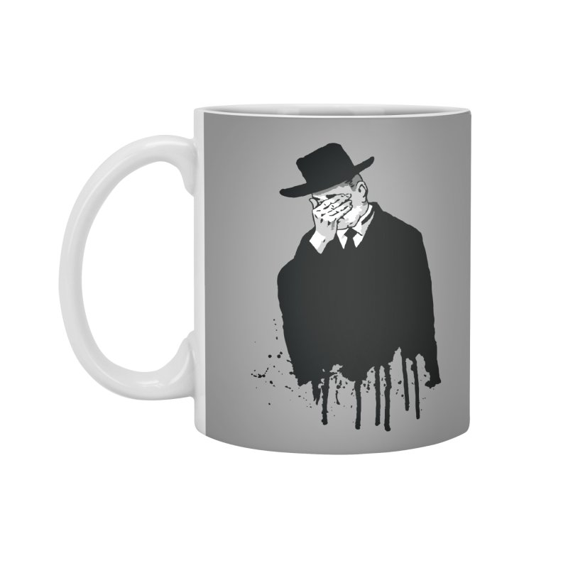 Plan 9 Mourner Accessories Mug by Cheap Chills Fan Club
