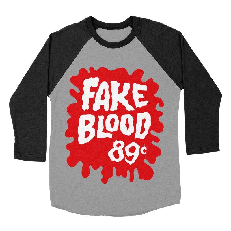Fake Blood 89¢ Men's Longsleeve T-Shirt by Cheap Chills Fan Club