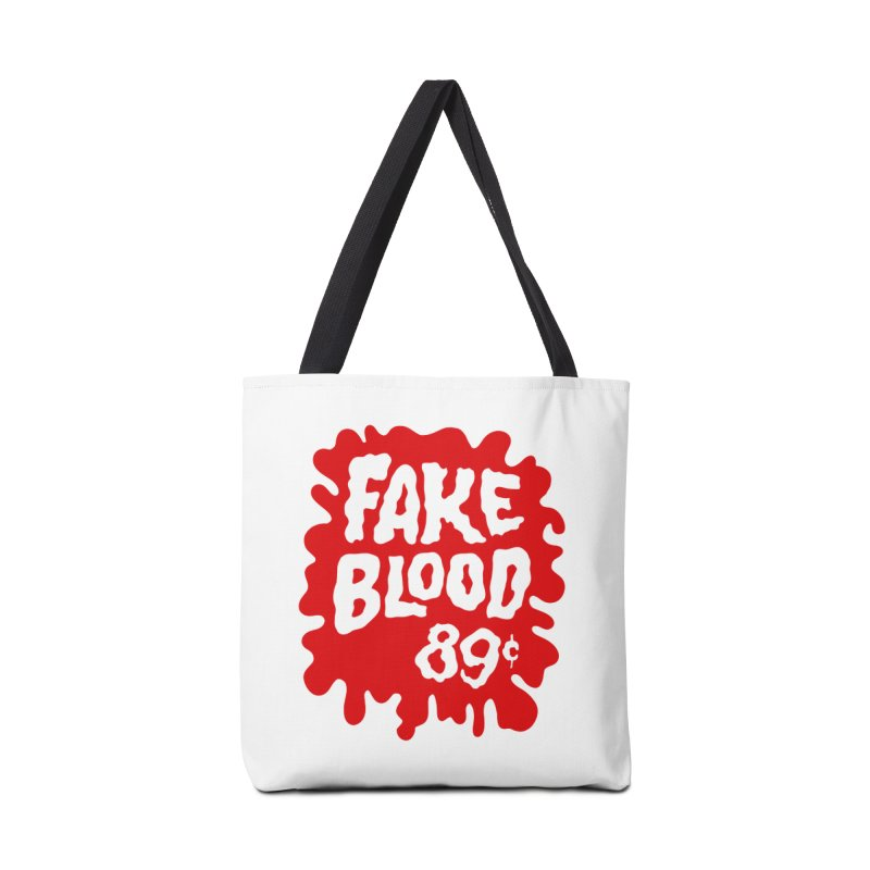 Fake Blood 89¢ Accessories Tote Bag Bag by Cheap Chills Fan Club