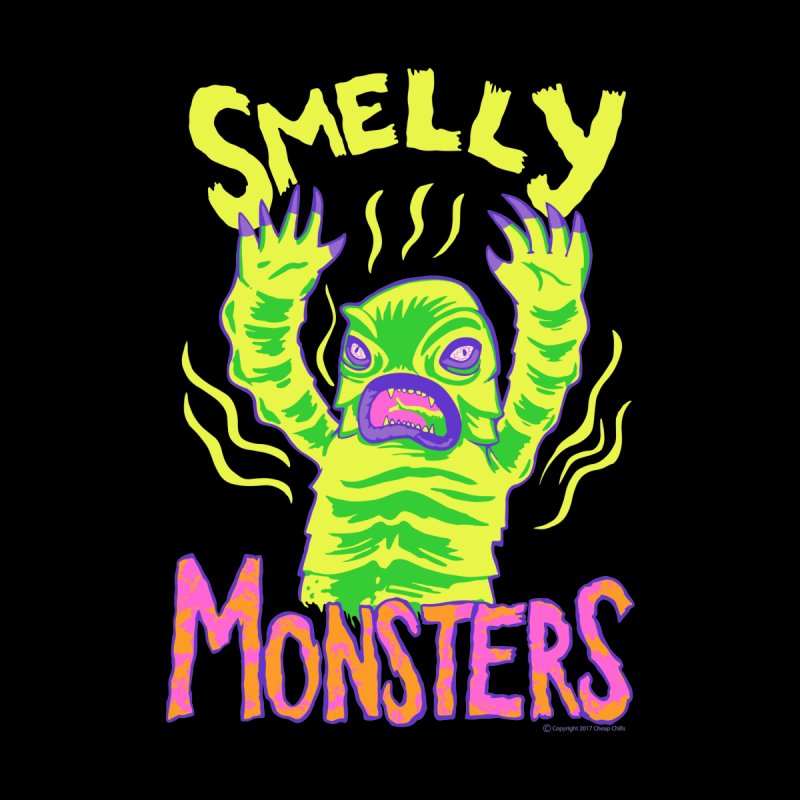 Smelly Monsters - Weird Swamp Creature That Smells T-shirt by Cheap Chills Fan Club
