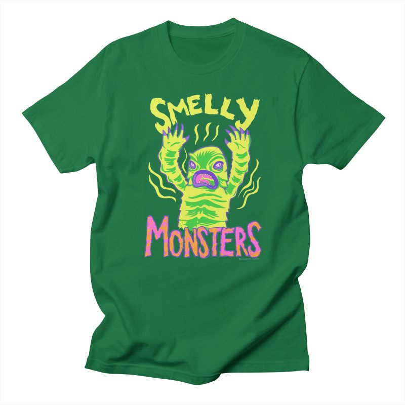 Smelly Monsters - Weird Swamp Creature That Smells T-shirt Men's T-Shirt by Cheap Chills Fan Club