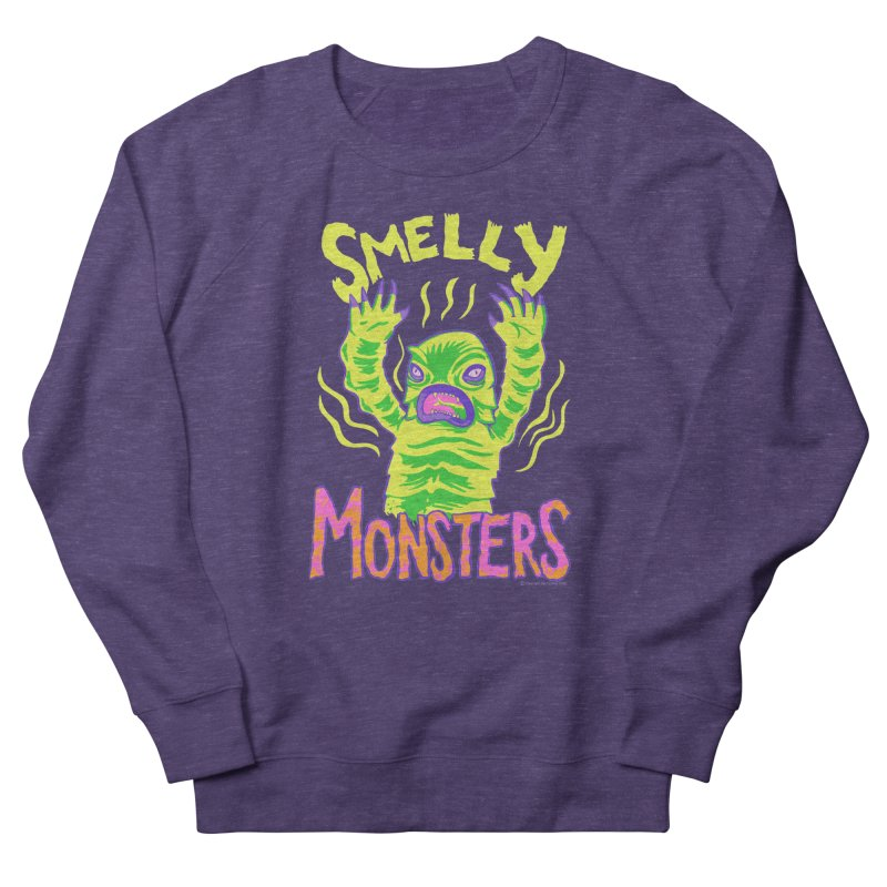 Smelly Monsters - Weird Swamp Creature That Smells T-shirt Men's Sweatshirt by Cheap Chills Fan Club