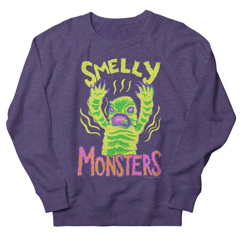 Smelly Monsters - Weird Swamp Creature That Smells T-shirt Men's Sweatshirt by Cheap Chills Fan Club