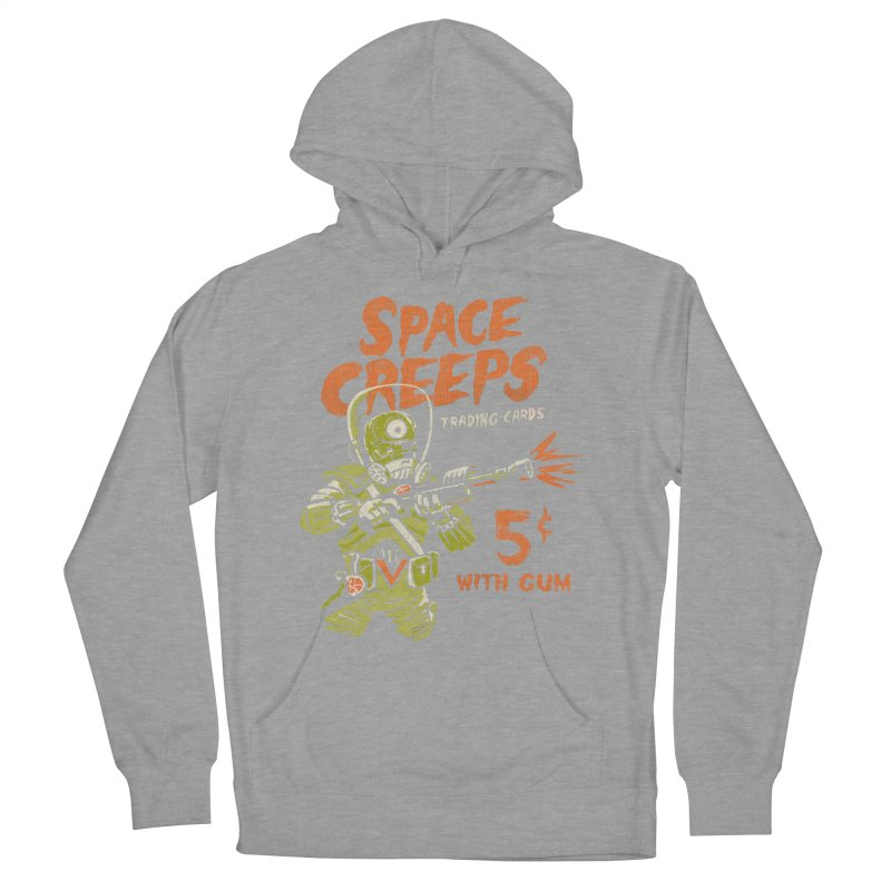 Space Creeps - 5 cents with Gum Men's Pullover Hoody by Cheap Chills Fan Club