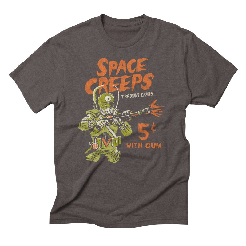 Space Creeps - 5 cents with Gum Men's T-Shirt by Cheap Chills Fan Club