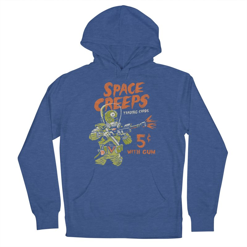 Space Creeps - 5 cents with Gum Women's Pullover Hoody by Cheap Chills Fan Club