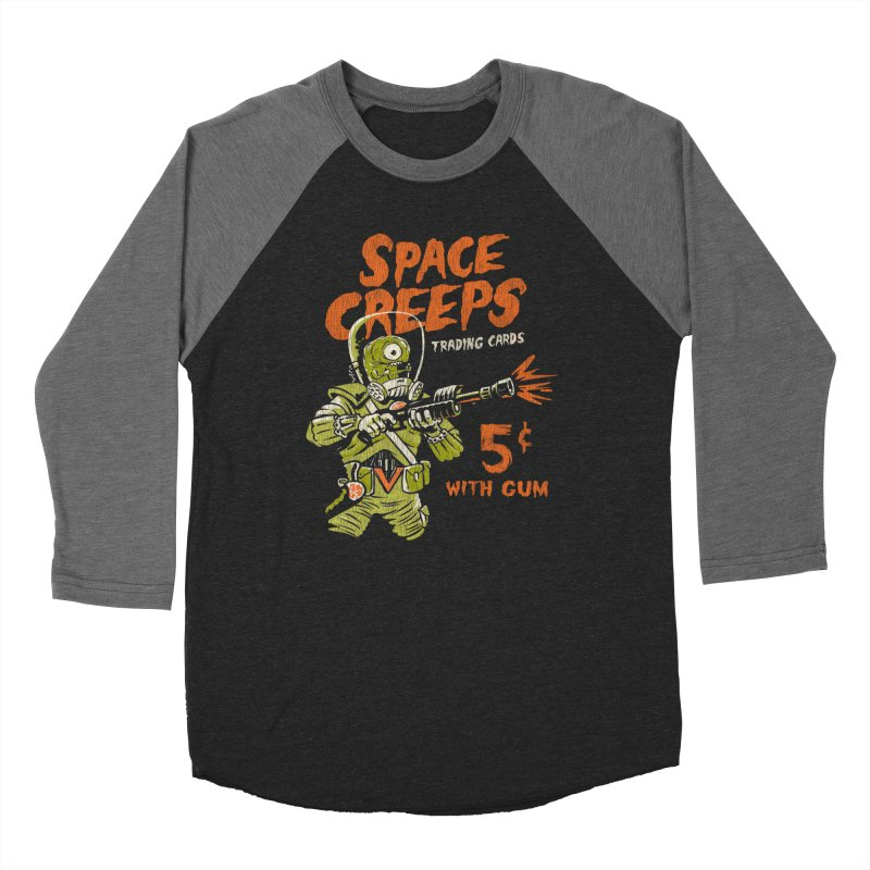 Space Creeps - 5 cents with Gum Women's Longsleeve T-Shirt by Cheap Chills Fan Club