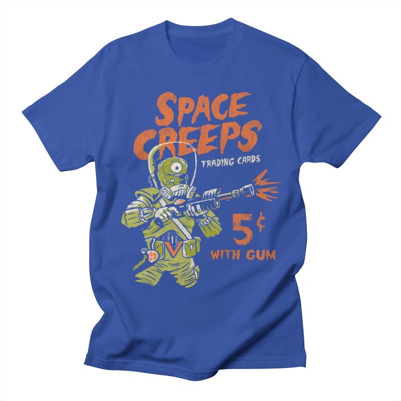 Space Creeps - 5 cents with Gum Men's Regular T-Shirt by Cheap Chills Fan Club