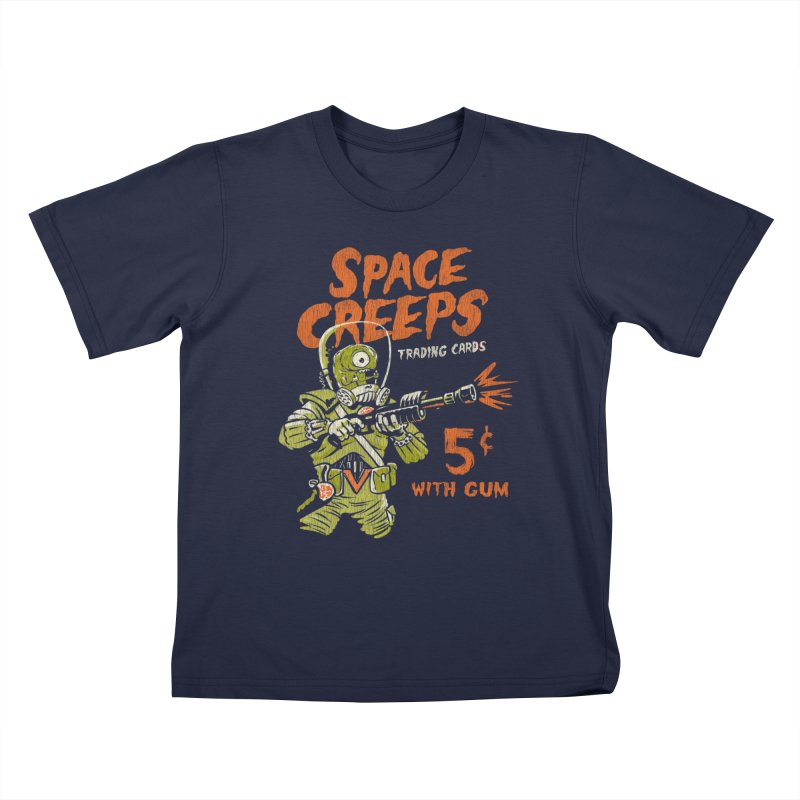 Space Creeps - 5 cents with Gum Kids T-Shirt by Cheap Chills Fan Club