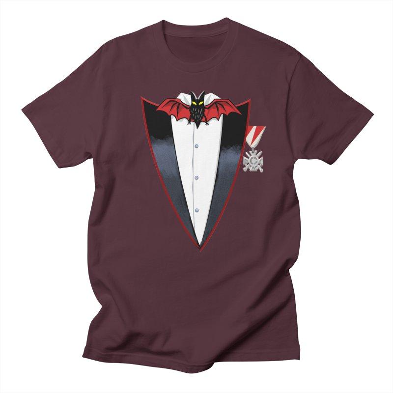 Dracula's Tuxedo Men's T-Shirt by Cheap Chills Fan Club