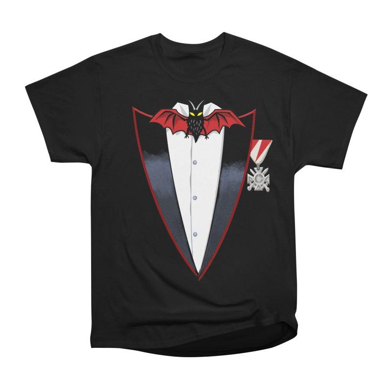 Dracula's Tuxedo Women's Classic Unisex T-Shirt by Cheap Chills Fan Club