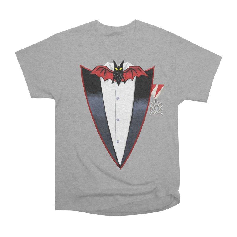 Dracula's Tuxedo Men's Heavyweight T-Shirt by Cheap Chills Fan Club
