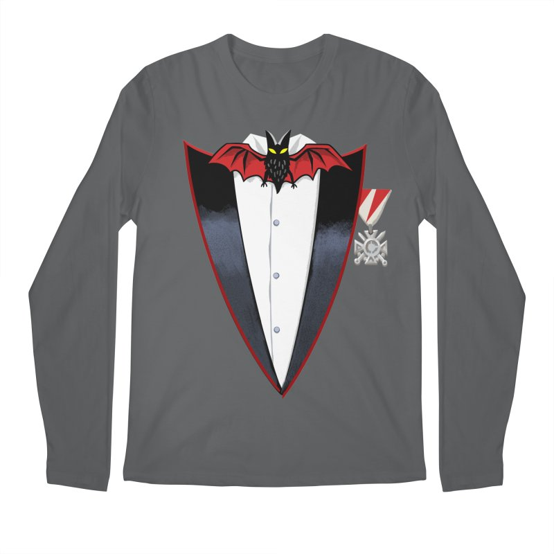 Dracula's Tuxedo Men's Longsleeve T-Shirt by Cheap Chills Fan Club