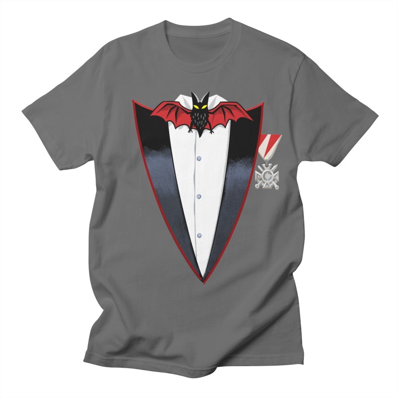 Dracula's Tuxedo Women's Regular Unisex T-Shirt by Cheap Chills Fan Club