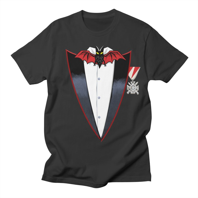 Dracula's Tuxedo Men's T-Shirt by Cheap Chills Fan Club