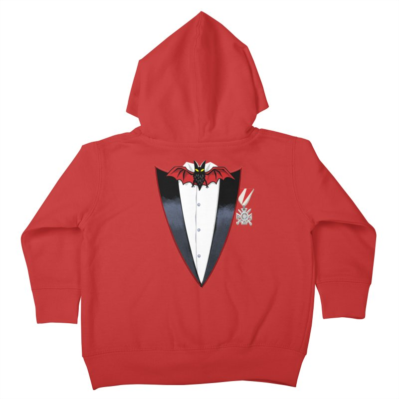 Dracula's Tuxedo Kids Toddler Zip-Up Hoody by Cheap Chills Fan Club