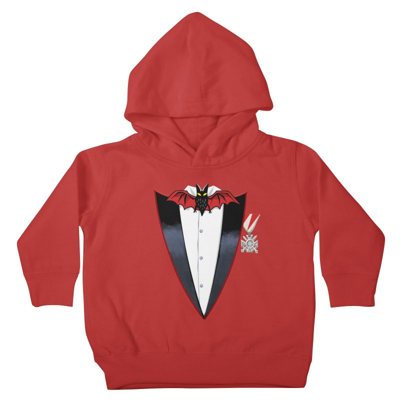 Dracula's Tuxedo Kids Toddler Pullover Hoody by Cheap Chills Fan Club