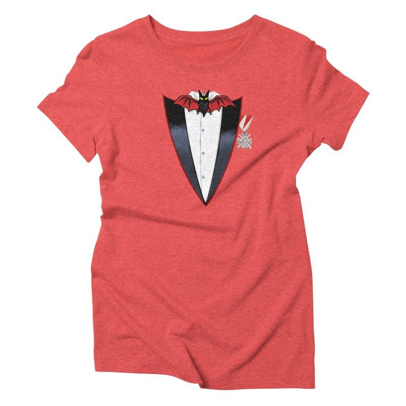 Dracula's Tuxedo Women's T-Shirt by Cheap Chills Fan Club