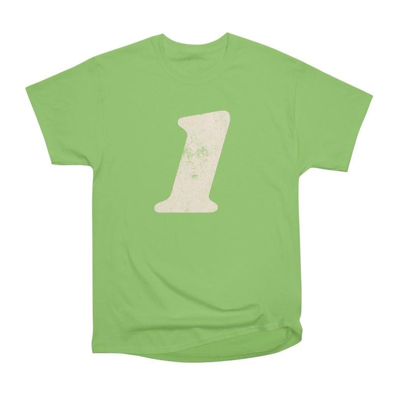 One Women's Heavyweight Unisex T-Shirt by Cheap Chills Fan Club