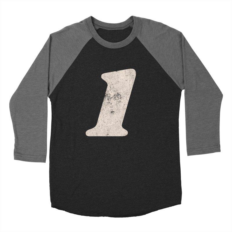 One Men's Baseball Triblend T-Shirt by Cheap Chills Fan Club