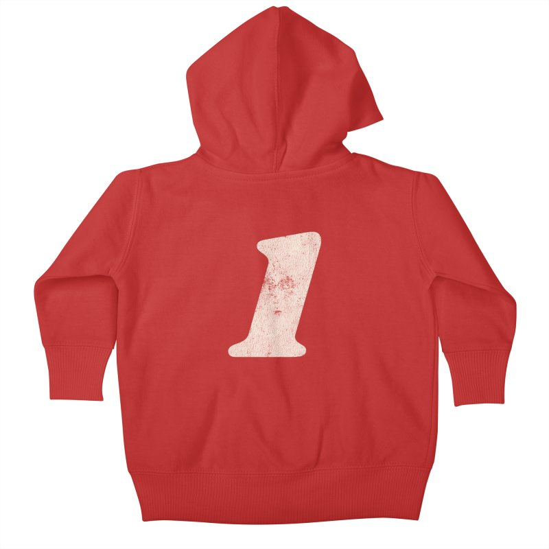 One Kids Baby Zip-Up Hoody by Cheap Chills Fan Club