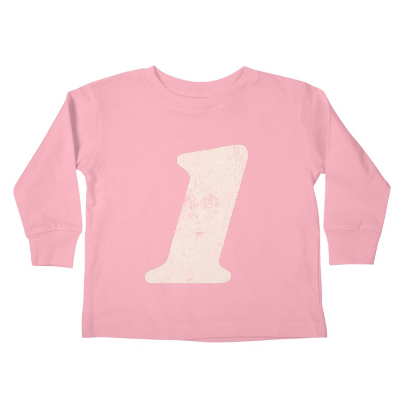 One Kids Toddler Longsleeve T-Shirt by Cheap Chills Fan Club