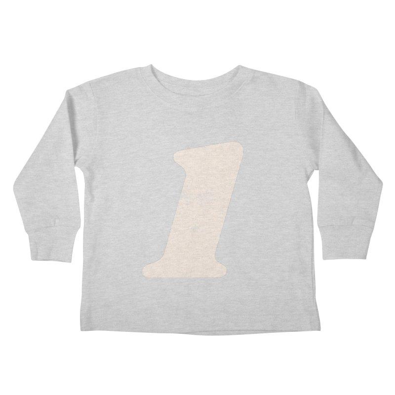 One Kids Toddler Longsleeve T-Shirt by Cheap Chills Fan Club