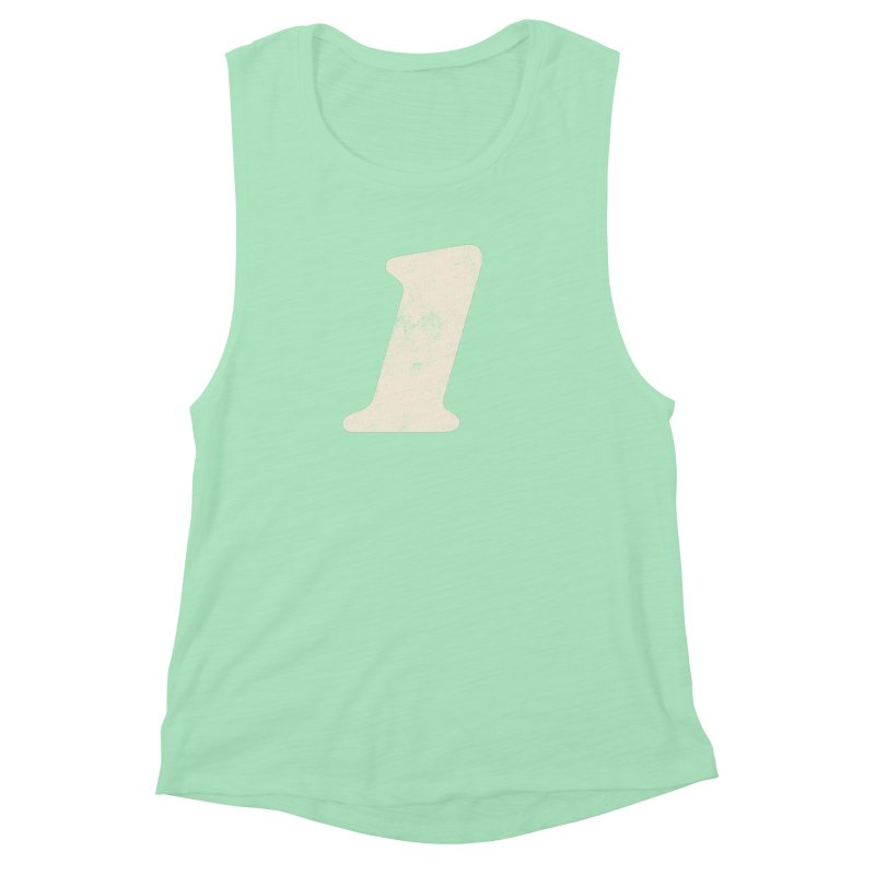 One Women's Muscle Tank by Cheap Chills Fan Club