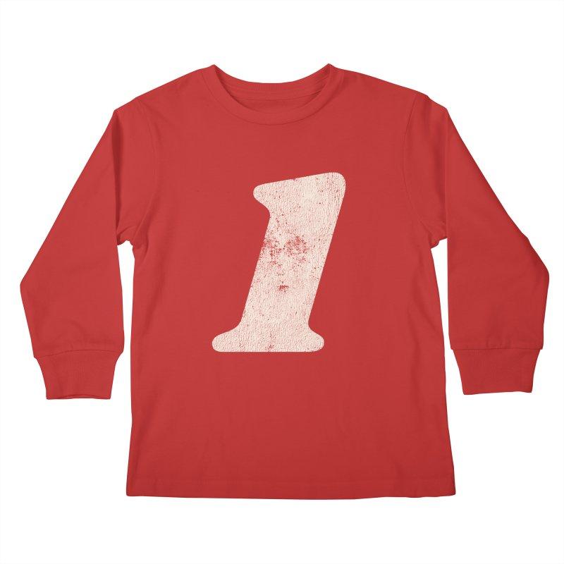 One Kids Longsleeve T-Shirt by Cheap Chills Fan Club
