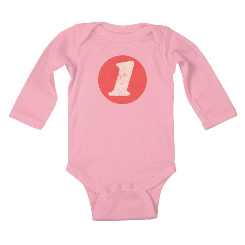 One B Kids Baby Longsleeve Bodysuit by Cheap Chills Fan Club