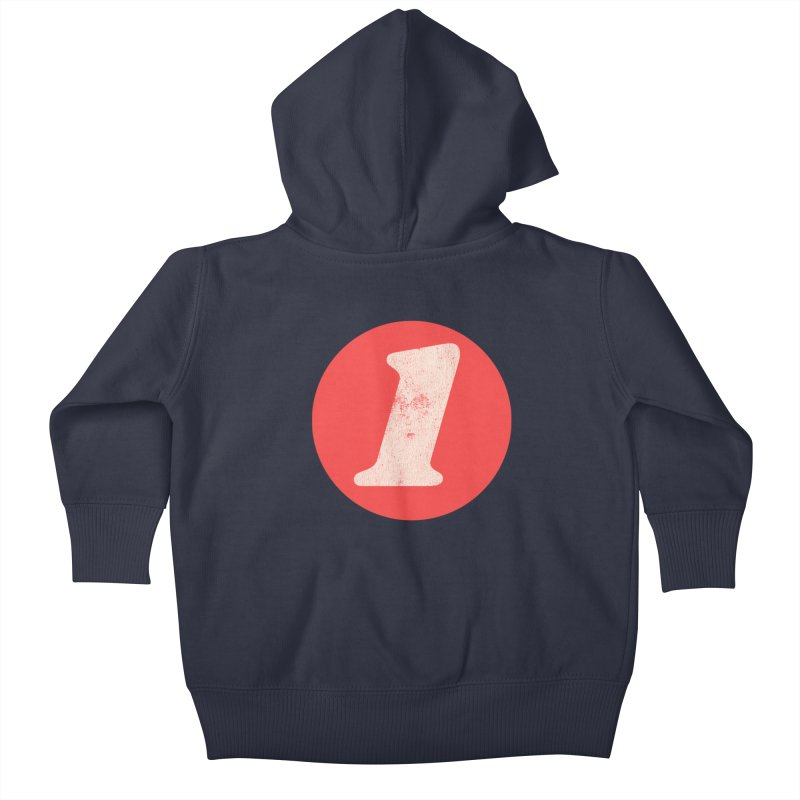 One B Kids Baby Zip-Up Hoody by Cheap Chills Fan Club