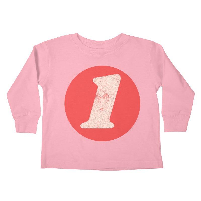 One B Kids Toddler Longsleeve T-Shirt by Cheap Chills Fan Club