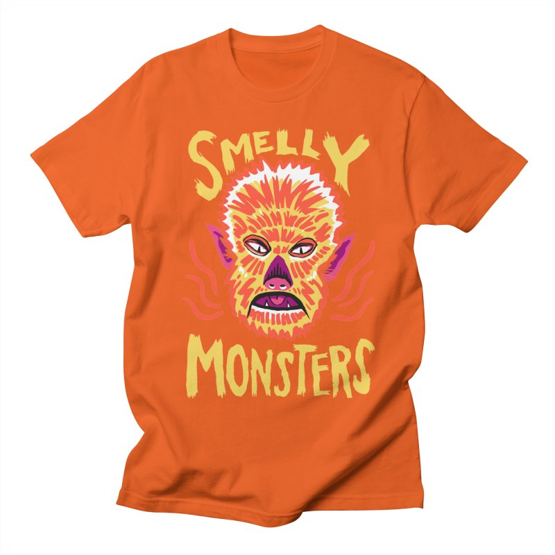 Smelly Monsters - Wolf Man has Bad Breath Men's T-Shirt by Cheap Chills Fan Club