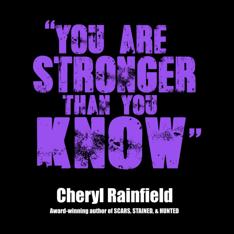 You Are Stronger Than You Know Accessories Zip Pouch by CherylRainfield's Shop