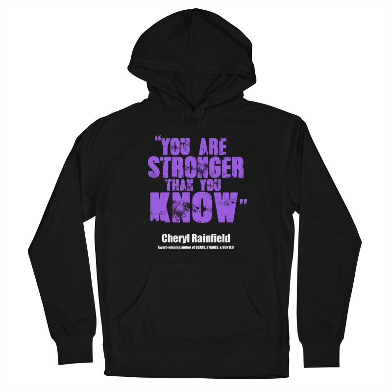 You Are Stronger Than You Know Women's Pullover Hoody by CherylRainfield's Shop