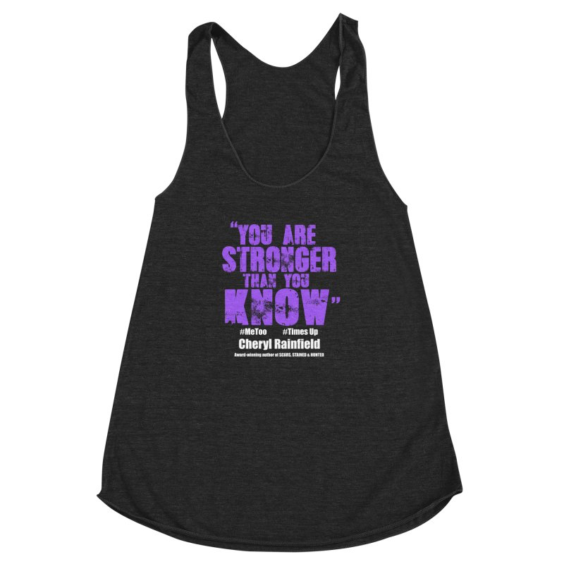 You Are Stronger Than You Know #MeToo #TimesUp Women's  by CherylRainfield's Shop