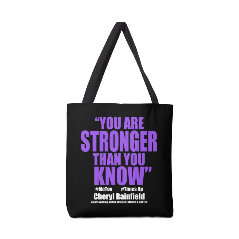 You Are Stronger Than You Know (plain font) #MeToo #TimesUp Accessories Tote Bag Bag by CherylRainfield's Shop