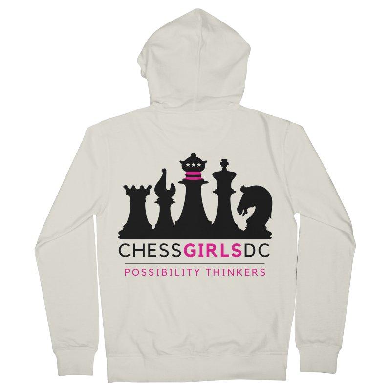 Support Chess Girls DC Nonprofit Women's Zip-Up Hoody by Chess Girls DC's Spirit Shop