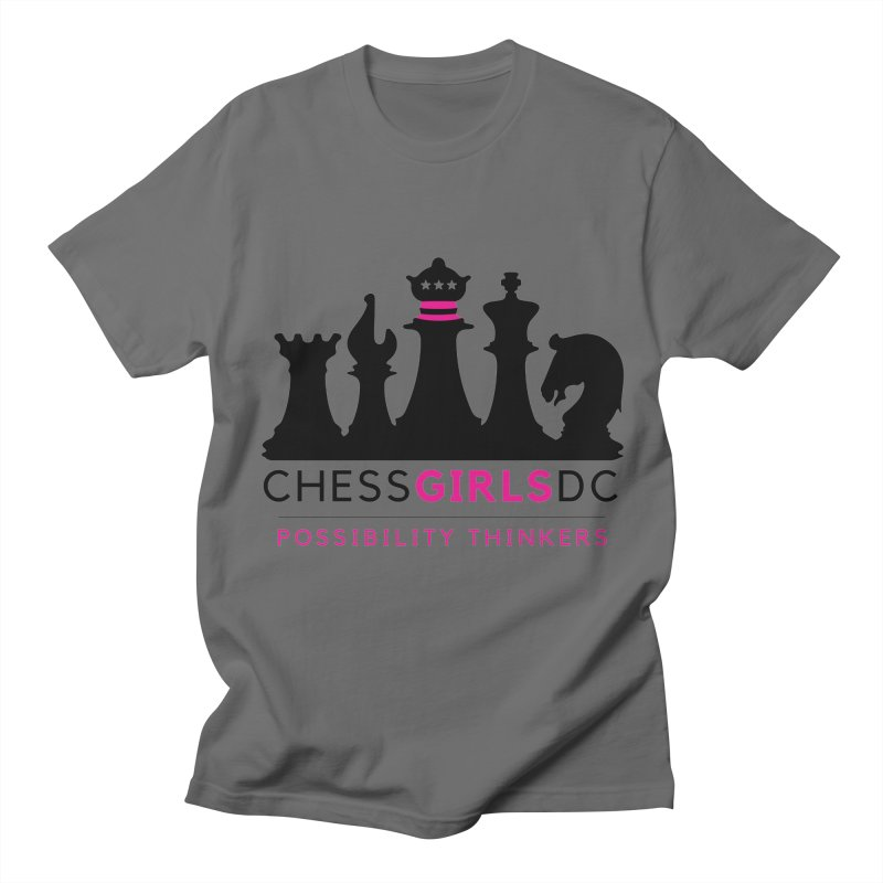 Support Chess Girls DC Nonprofit Men's T-Shirt by Chess Girls DC's Spirit Shop