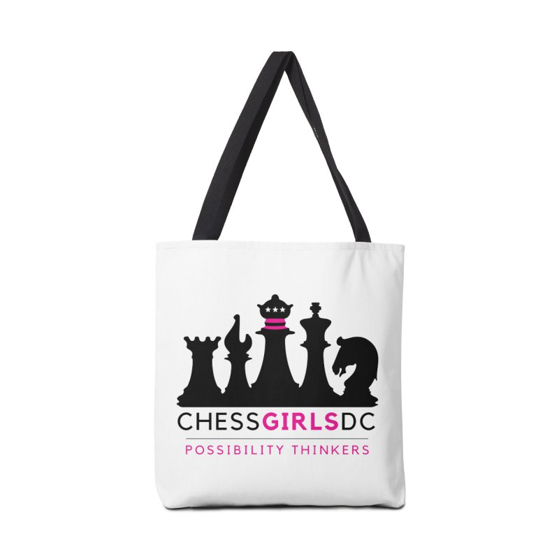 Support Chess Girls DC Nonprofit Accessories Bag by Chess Girls DC's Spirit Shop