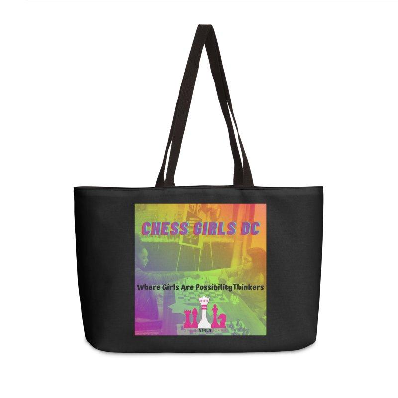 Rainbow Accessories Bag by Chess Girls DC's Spirit Shop