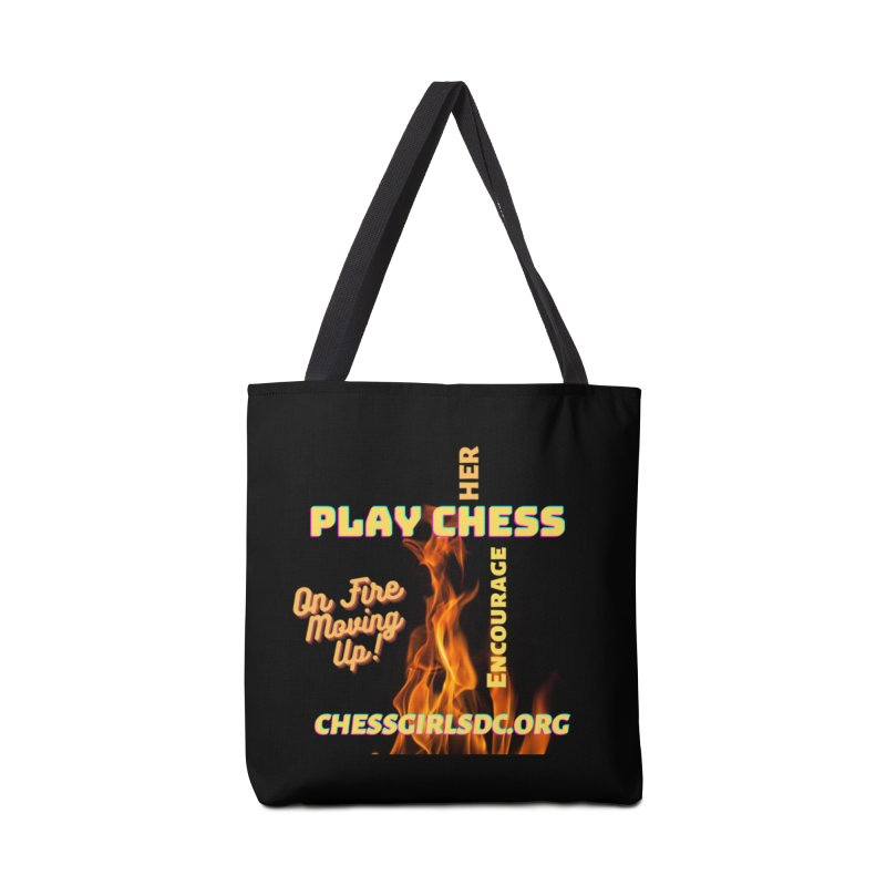 On Fire Accessories Bag by Chess Girls DC's Spirit Shop