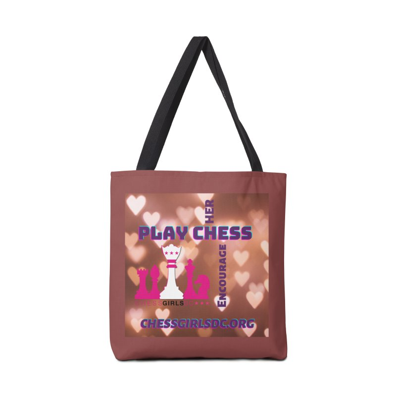 Love hearts Accessories Bag by Chess Girls DC's Spirit Shop