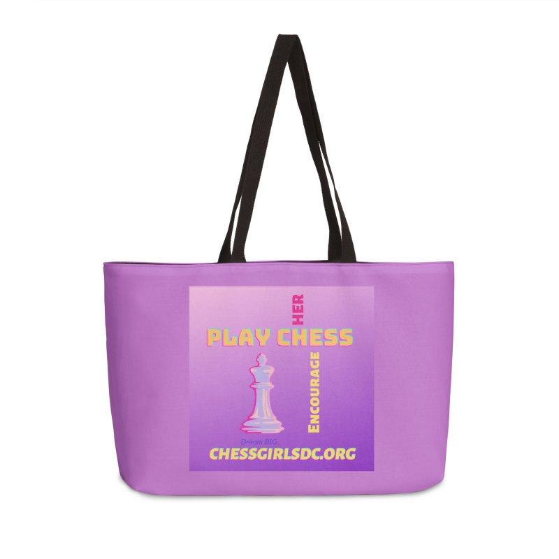 Lavender Accessories Bag by Chess Girls DC's Spirit Shop