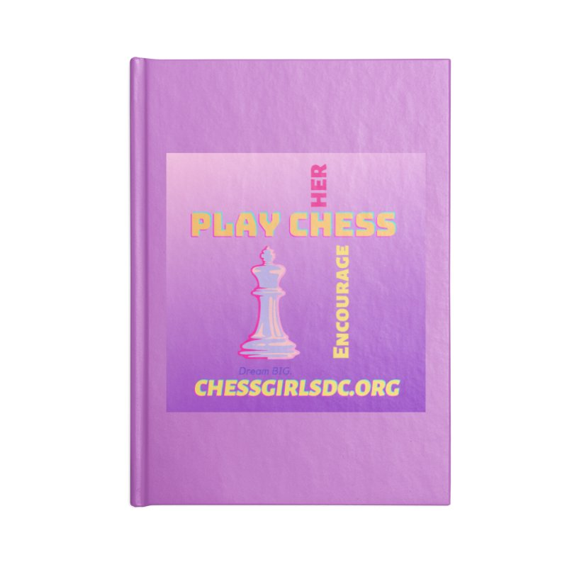 Lavender Accessories Notebook by Chess Girls DC's Spirit Shop
