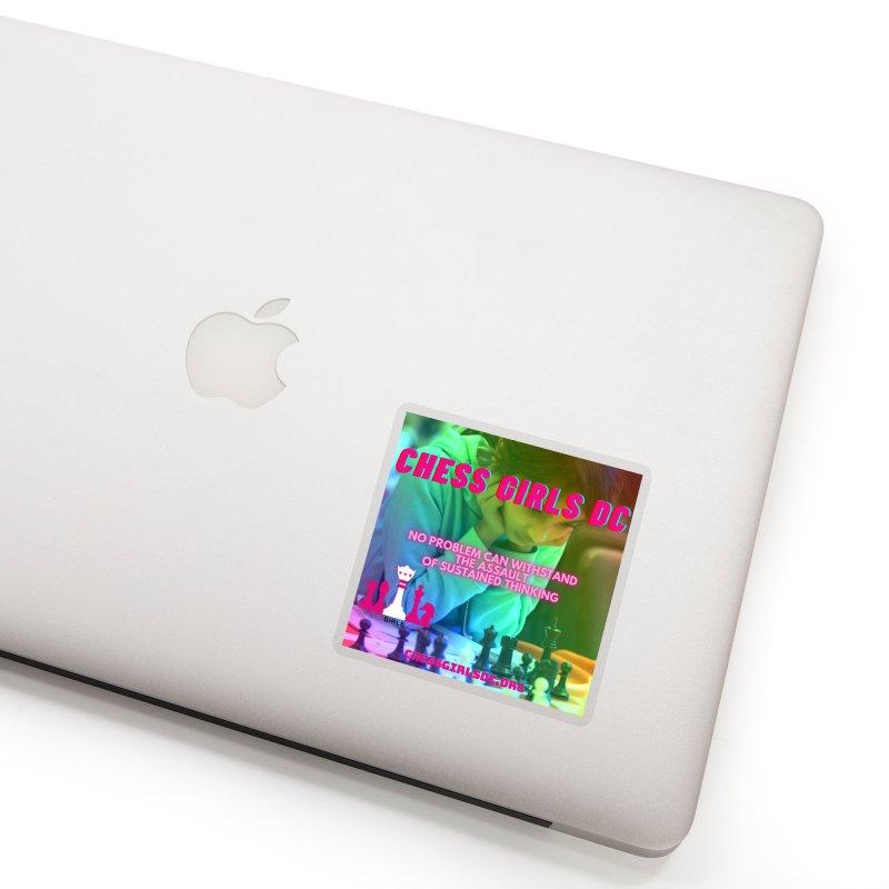 Rainbow Thinking Accessories Sticker by Chess Girls DC's Spirit Shop