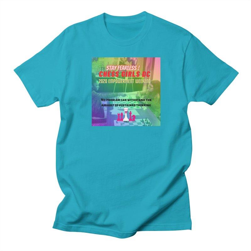 Chess Girls Empowerment Tournament Women's T-Shirt by Chess Girls DC's Spirit Shop