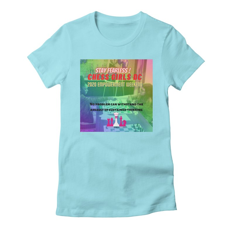 Chess Girls Empowerment Tournament Women's T-Shirt by Chess Girls DC's Spirit Shop