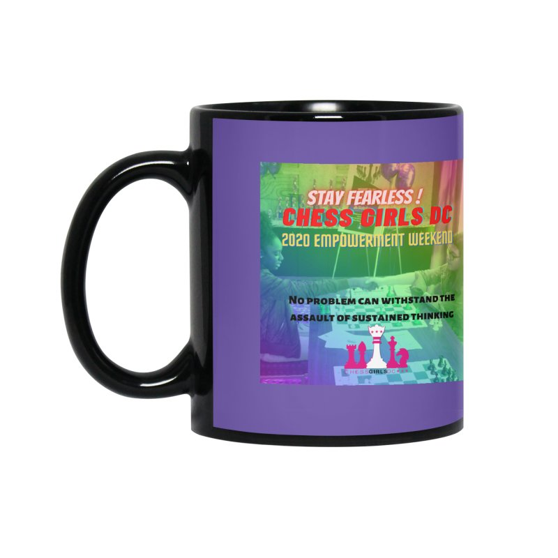 Chess Girls Empowerment Tournament Accessories Mug by Chess Girls DC's Spirit Shop