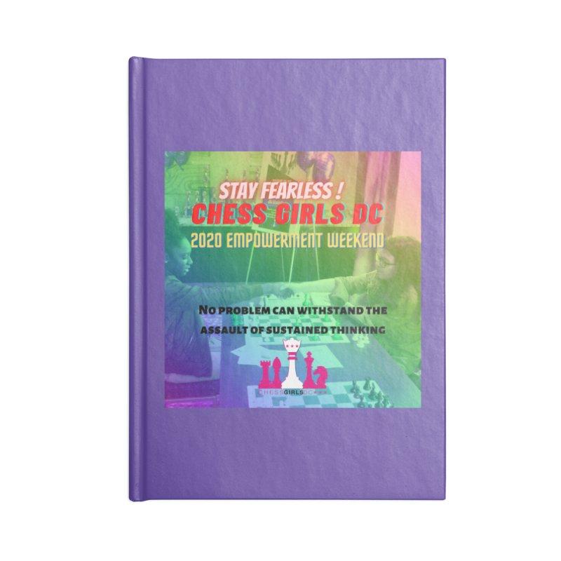 Chess Girls Empowerment Tournament Accessories Notebook by Chess Girls DC's Spirit Shop